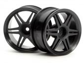 JANTE 12 BRANCHES CORSA 26MM NOIRE HPI RACING