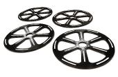 ROUE DE RÉGLAGE Ø89mm en aluminium pour 1/8 On-road GT, GT8, Touring, Buggy & Truggy TEAM INTEGY C25935BLACK