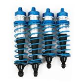 SET DE 4 SUSPENSIONS POUR LOSI 5IVE (COULEUR BLEU) Shock absorber (vehicle parts) BLUE