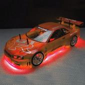 RC NEON RED UNDER CAR LIGHTING KIT RC200R